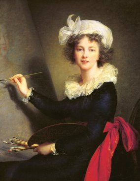 Le Brun - Self-portrait - 1790